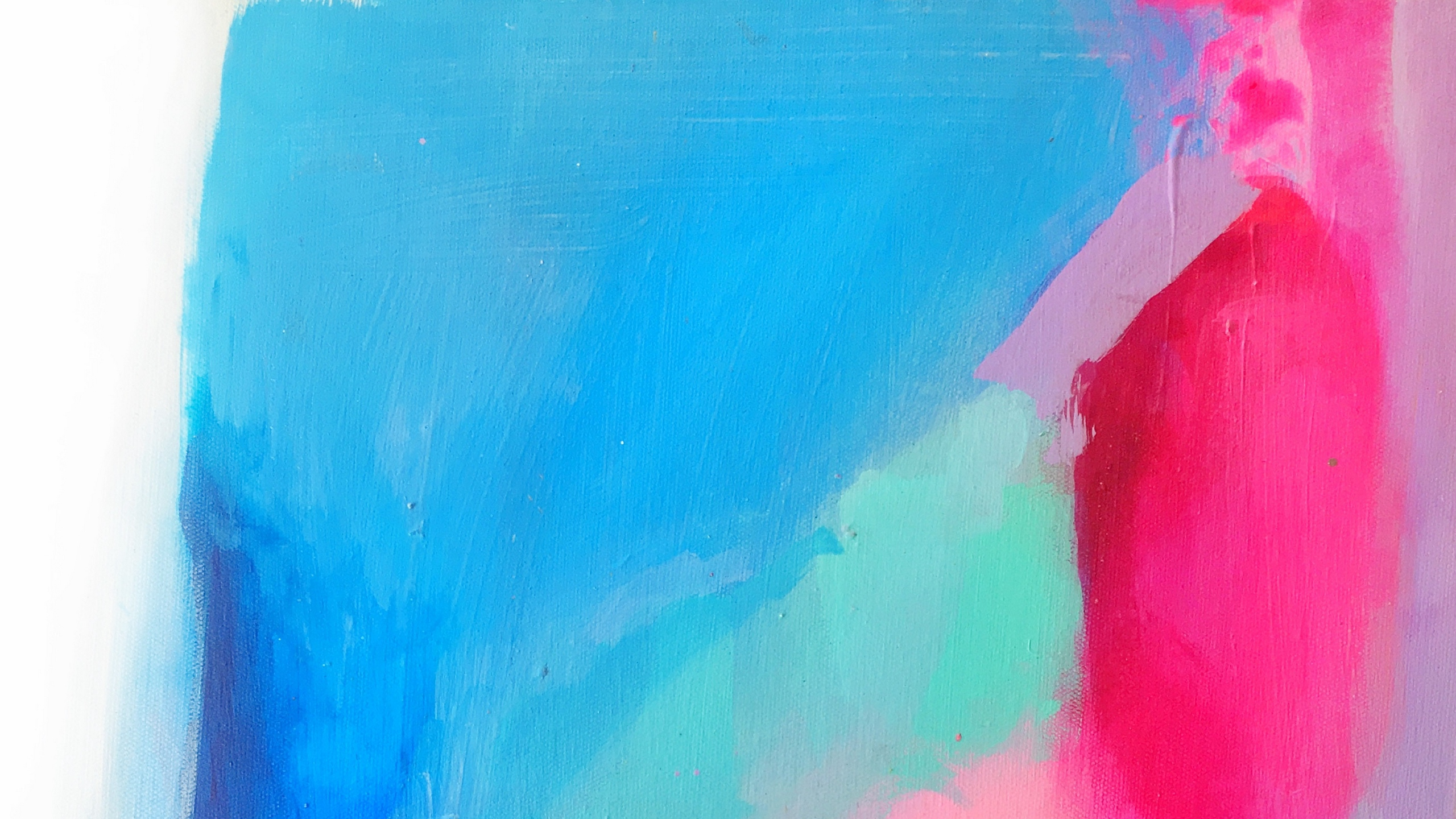 Wallpaper Canvas, Paint, Strokes, Colorful, Modern - Painting - HD Wallpaper