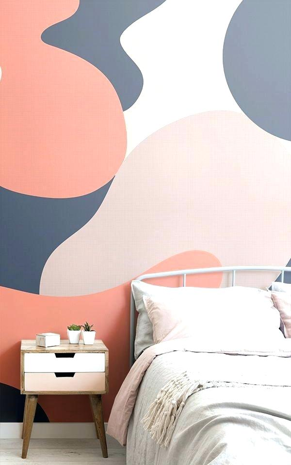 Bedroom Wallpaper Designs For Teenagers Ideas Create - Modern Trendy Bedroom Wallpaper Designs - HD Wallpaper