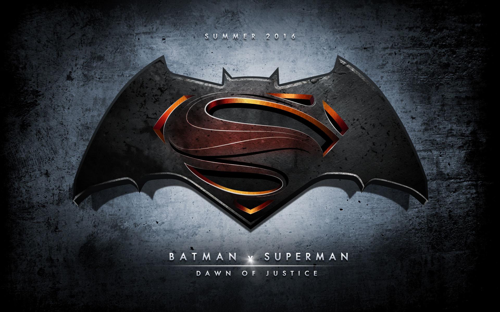 82 Batman V Superman - Hd Wallpaper Batman Vs Superman Logo - HD Wallpaper