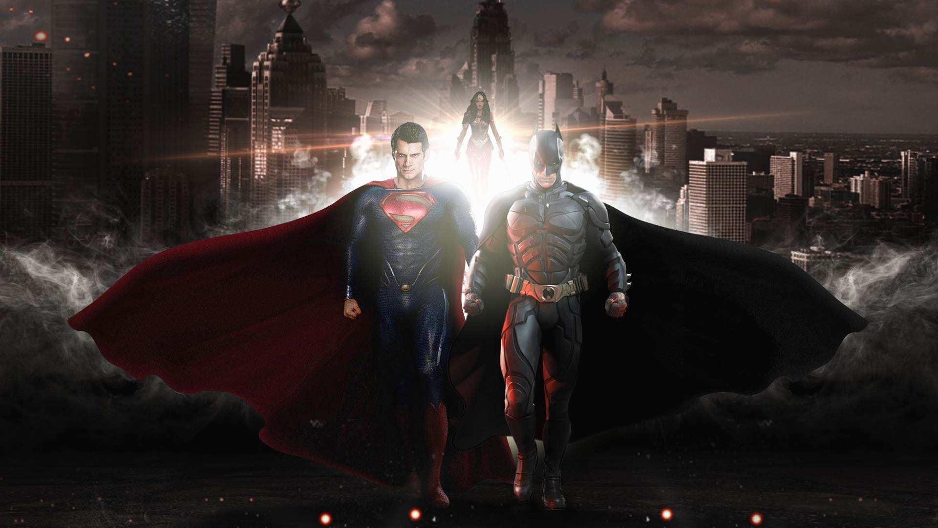 Batman Vs Superman 2016 Movie Wallpaper Hd 1080p Desktop - HD Wallpaper