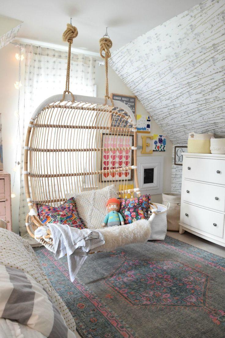 Accent Wall In Girls Bedroom - HD Wallpaper