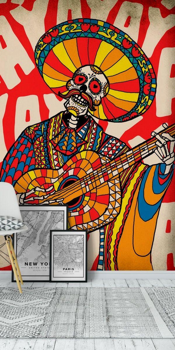 Mariachi Art Work - HD Wallpaper
