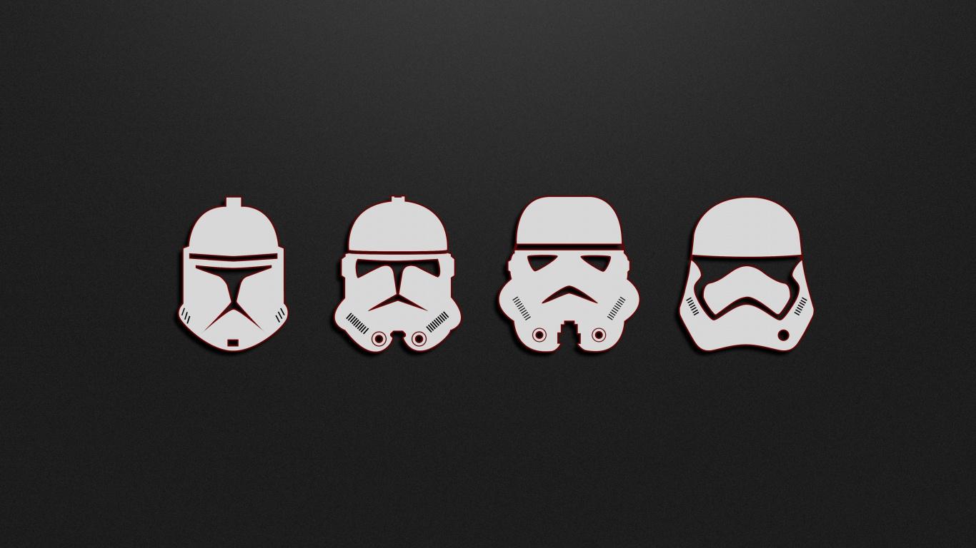 Minimal Soldiers Stormtrooper Star Wars Wallpaper Star Wars Wallpaper Laptop 1366x768 Wallpaper Teahub Io