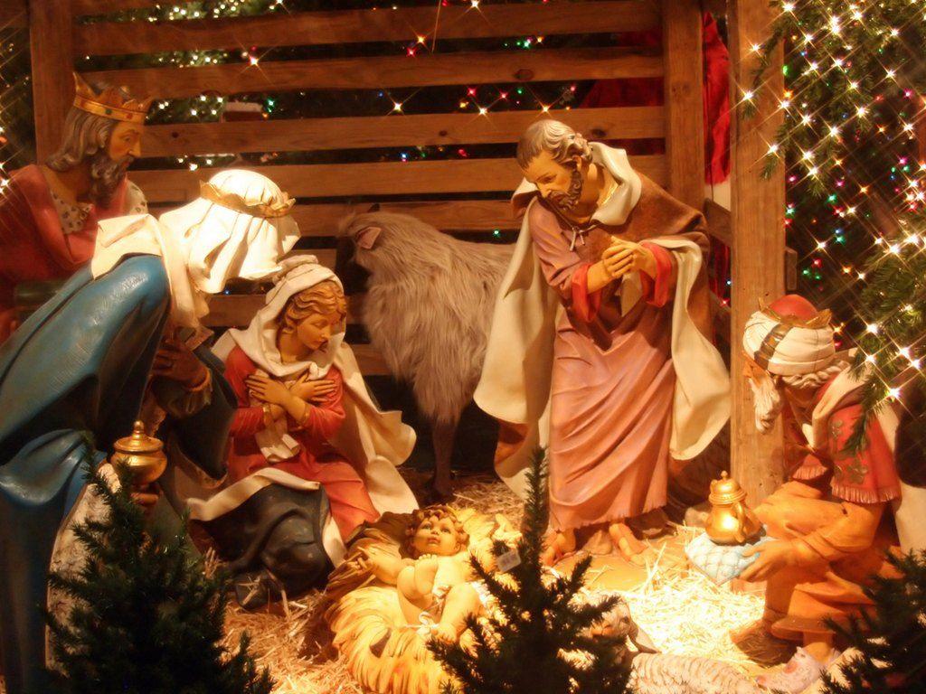 Nativity Wallpaper Happy Christmas Jesus Birth 1024x768 Wallpaper Teahub Io