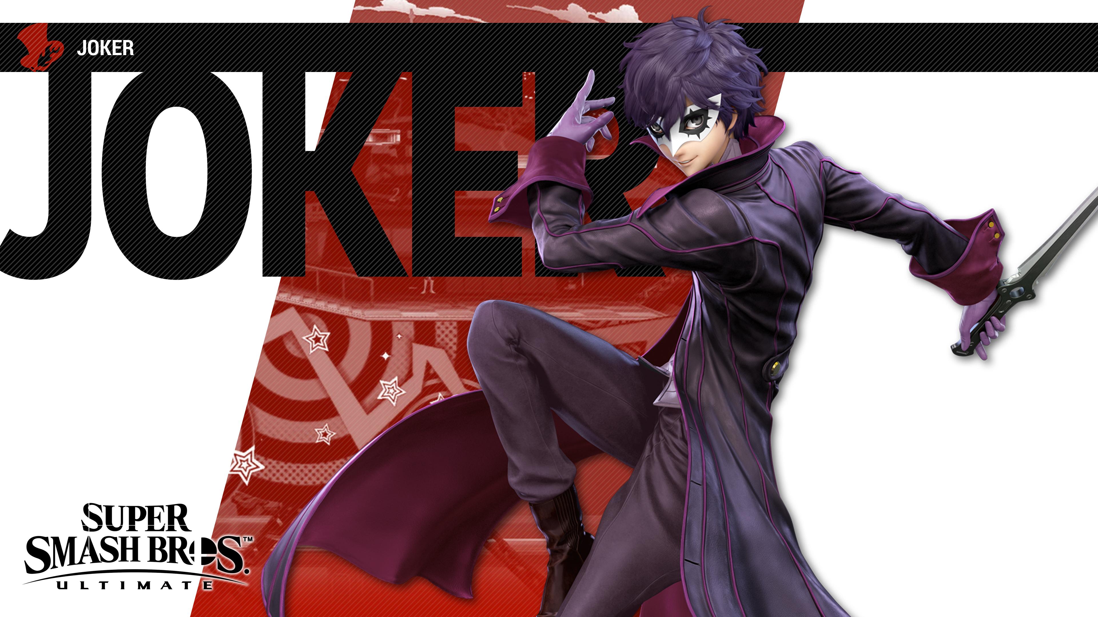 Super Smash Bros Ultimate Joker - HD Wallpaper
