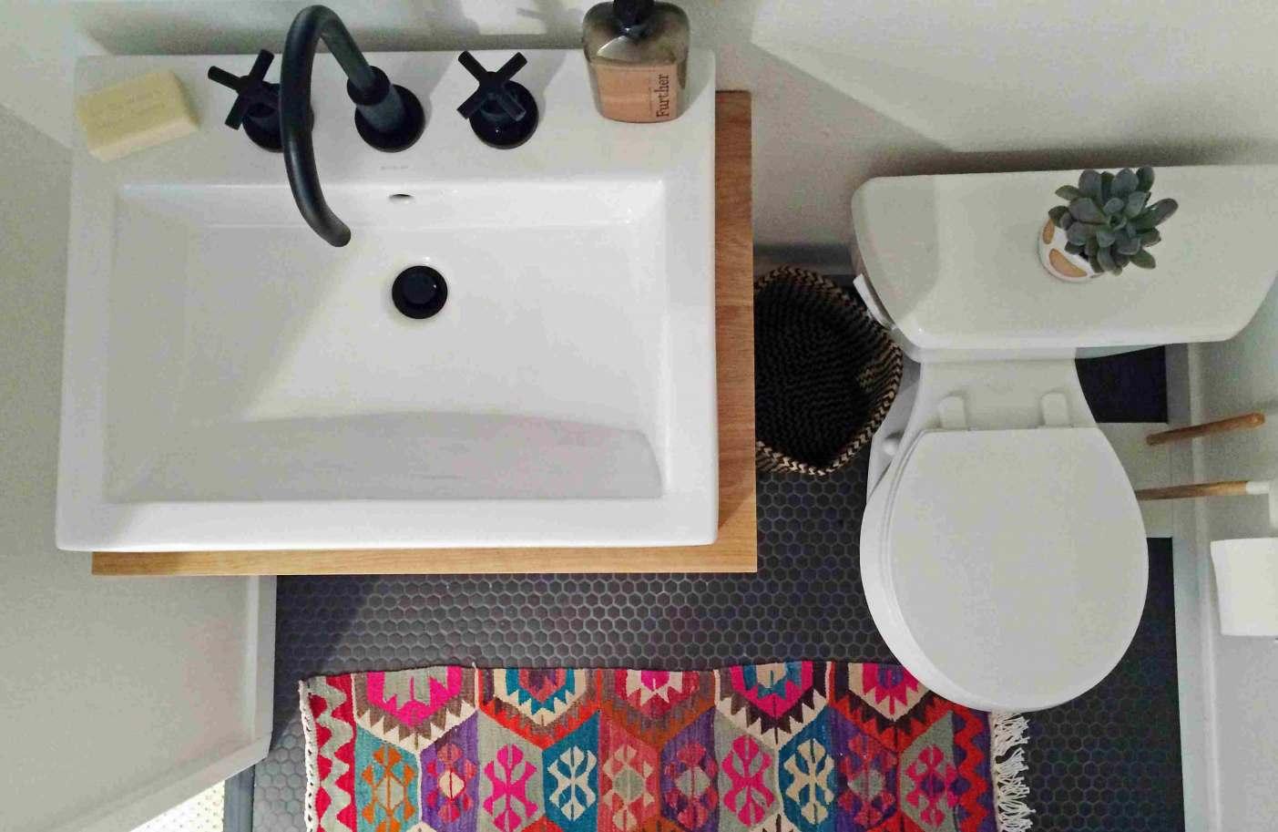 Design Ideas Small Bathroom - HD Wallpaper