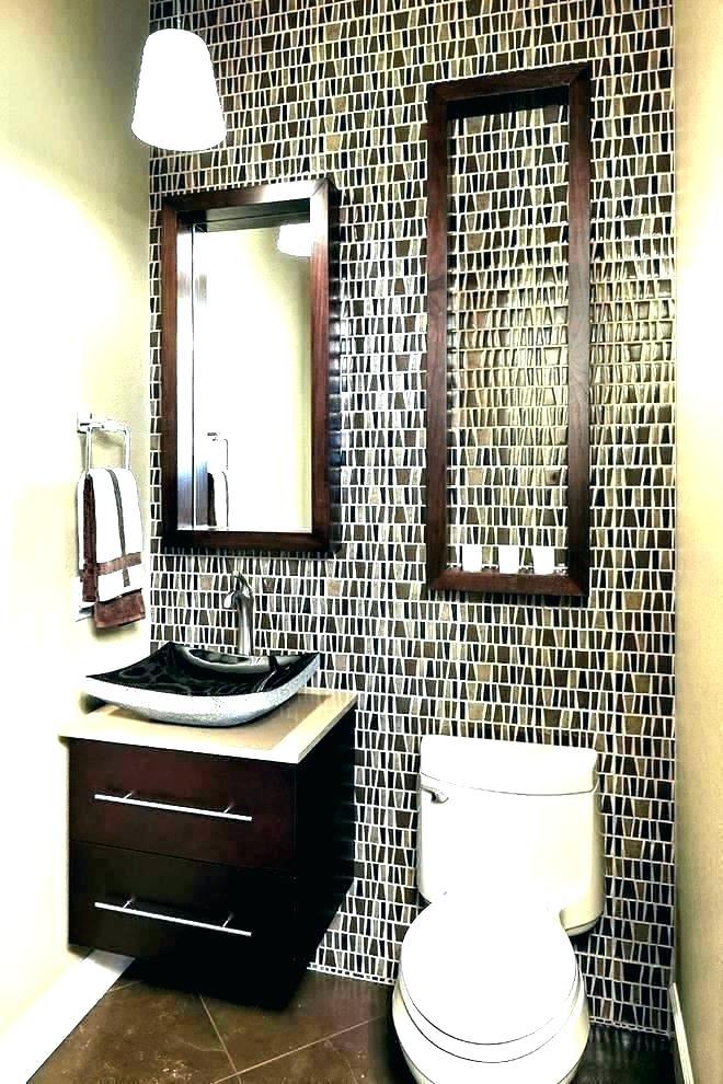 Powder Room Wall Art Vemgclub Powder Room Wall Decor - Half Bathroom Ideas For Small Spaces - HD Wallpaper