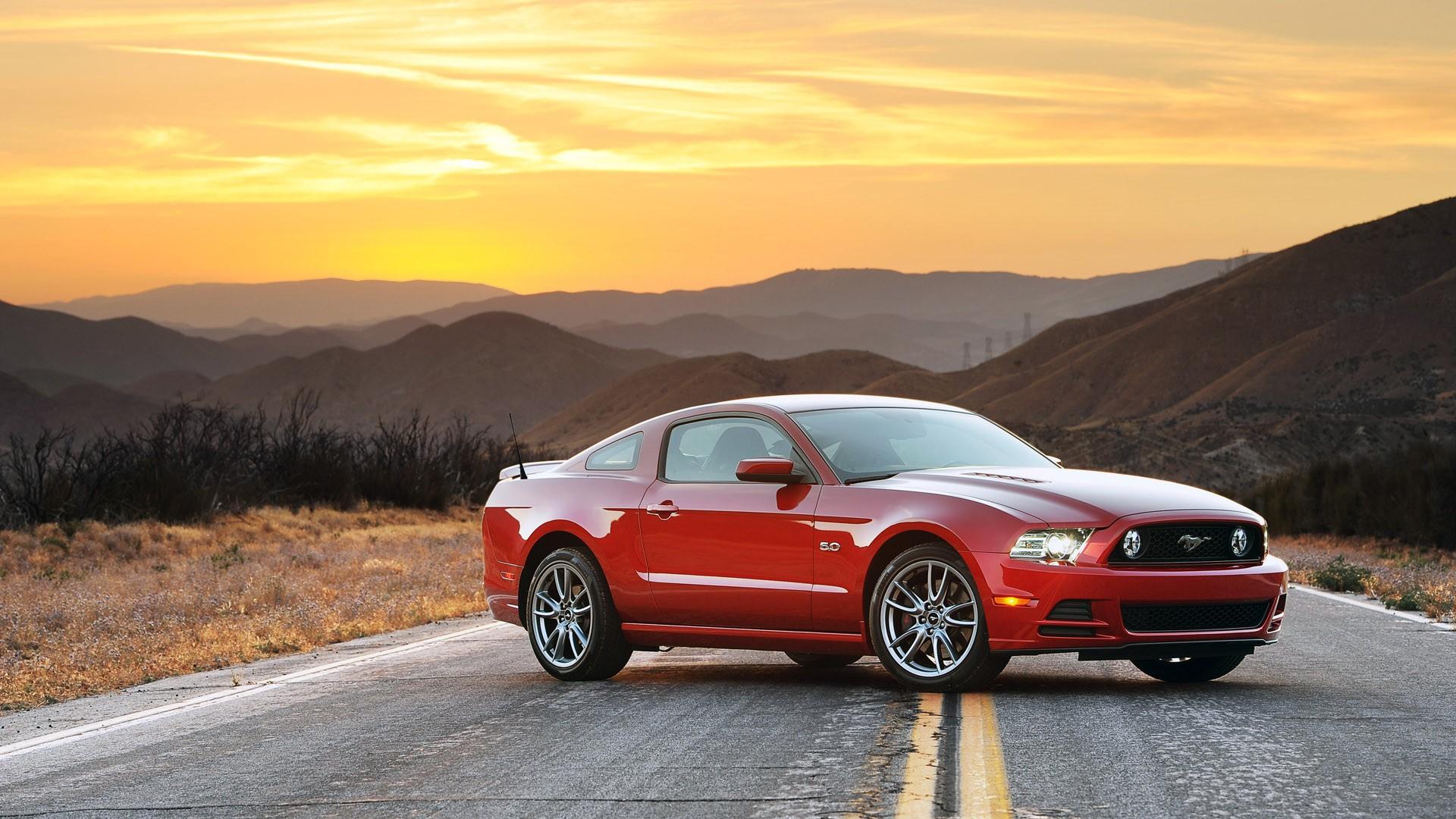 Ford Mustang Wallpaper 2014 1920x1080 Wallpaper Teahub Io