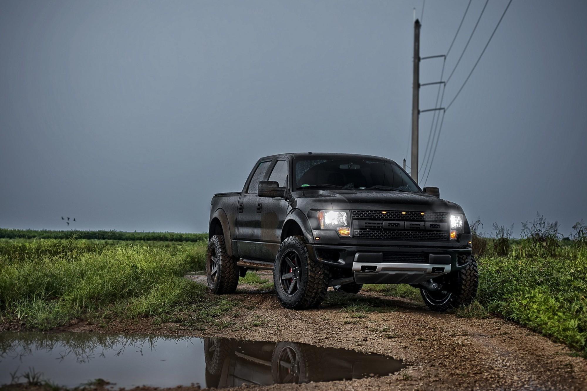 Ford Raptor 2013 Matte Black 2000x1333 Wallpaper Teahub Io