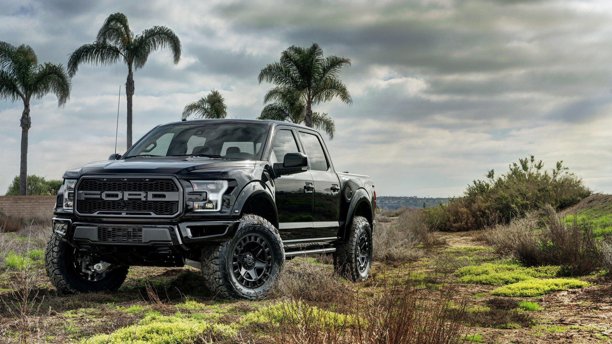 Black Ford Raptor Off Road 2048x1152 Wallpaper Teahub Io