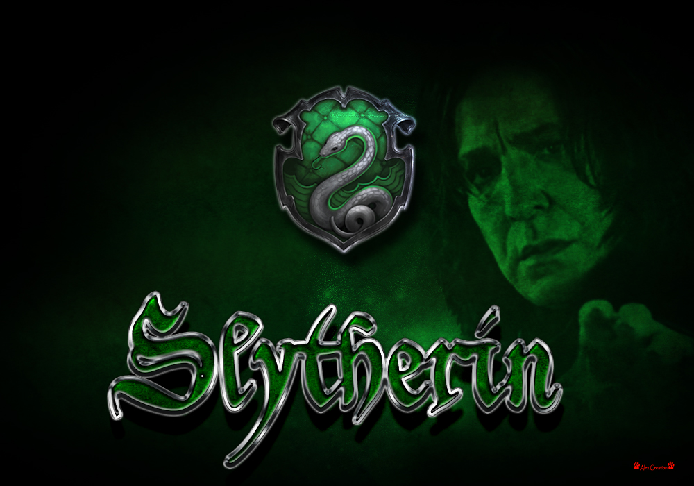 Snape Slytherin Wallpaper - All Slytherin Students With Snape - HD Wallpaper