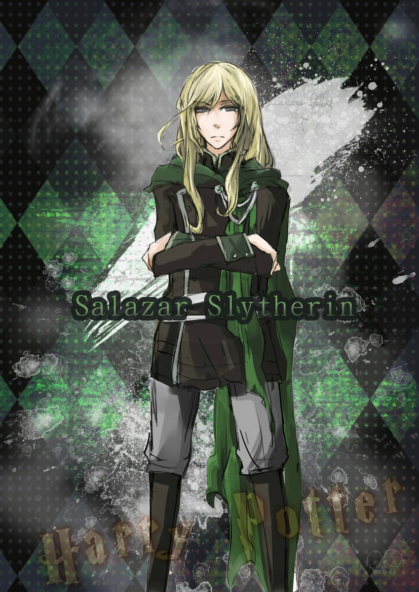Harry Potter Salazar Slytherin Anime - HD Wallpaper