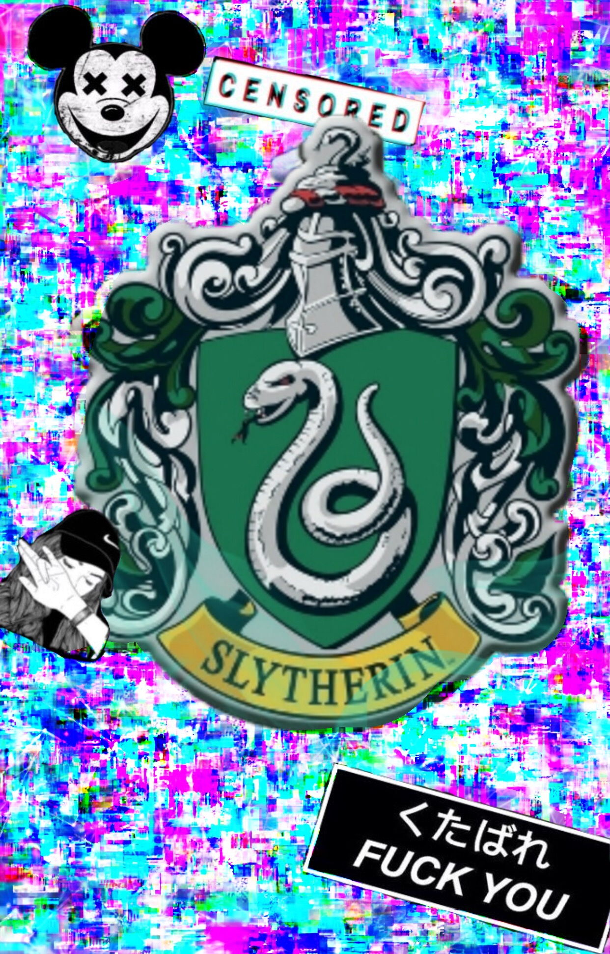 Slytherin Wallpaper, Feel Free To Save For Your Syltherin - Banner Slytherin - HD Wallpaper