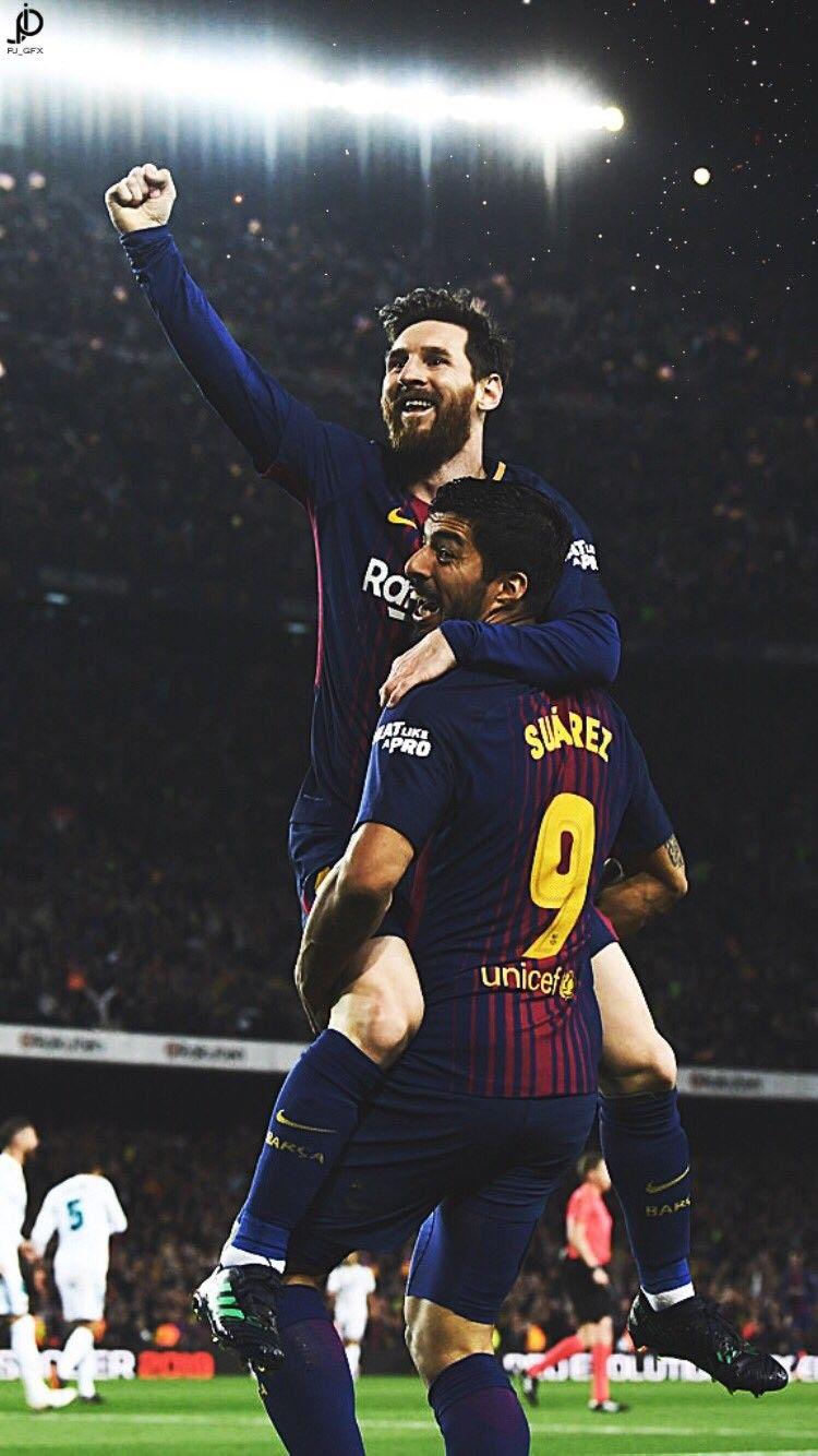 Messi And Suarez Wallpaper 2018 750x1334 Wallpaper Teahub Io