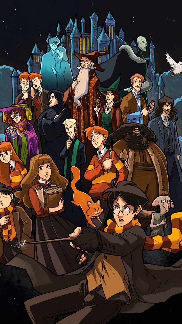 Harry Potter Wallpaper 4k - HD Wallpaper
