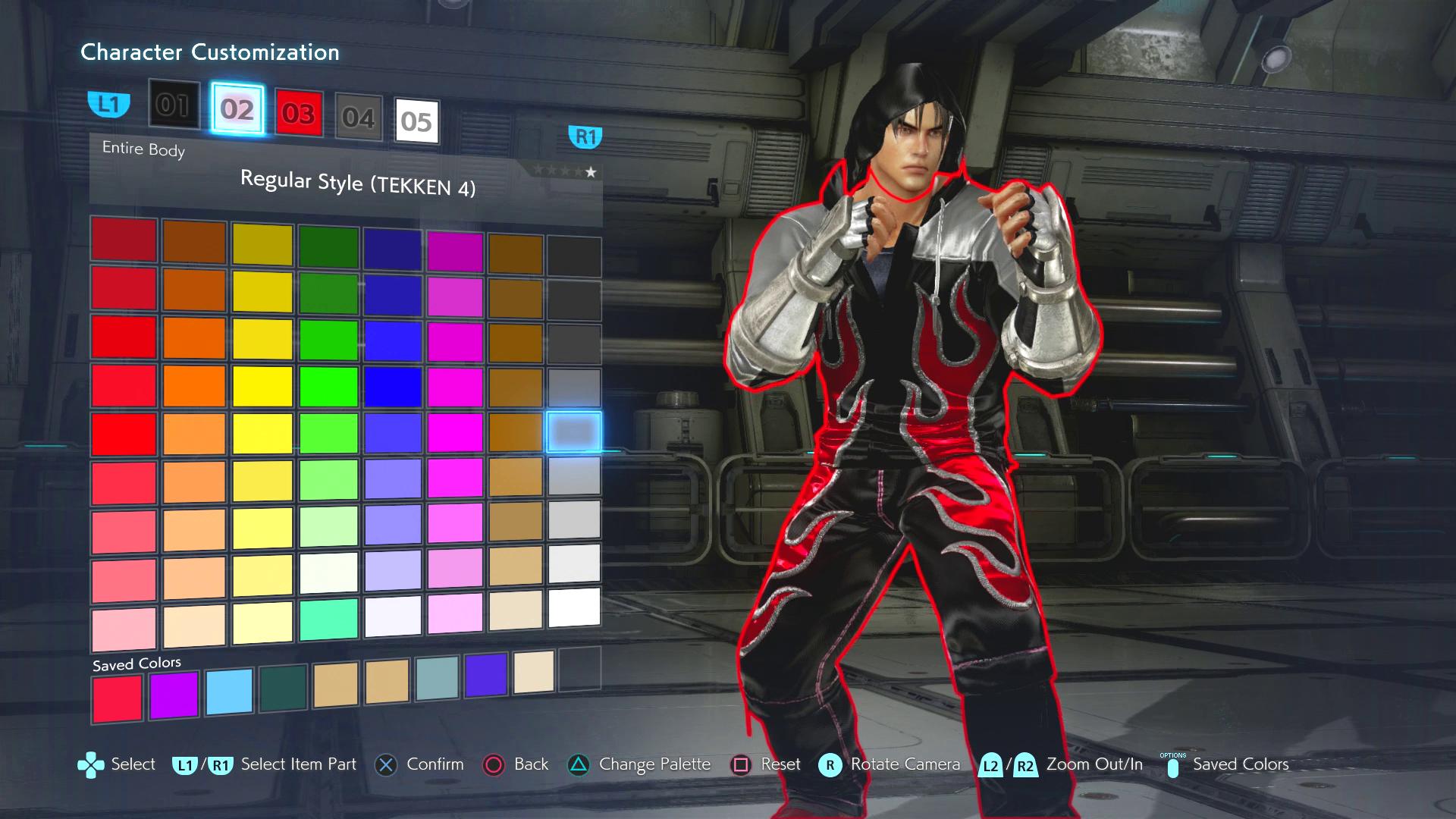Tekken7 Jinkazama Customization Tfg Colors Tekken 7 Character Customization Ideas 1920x1080 Wallpaper Teahub Io