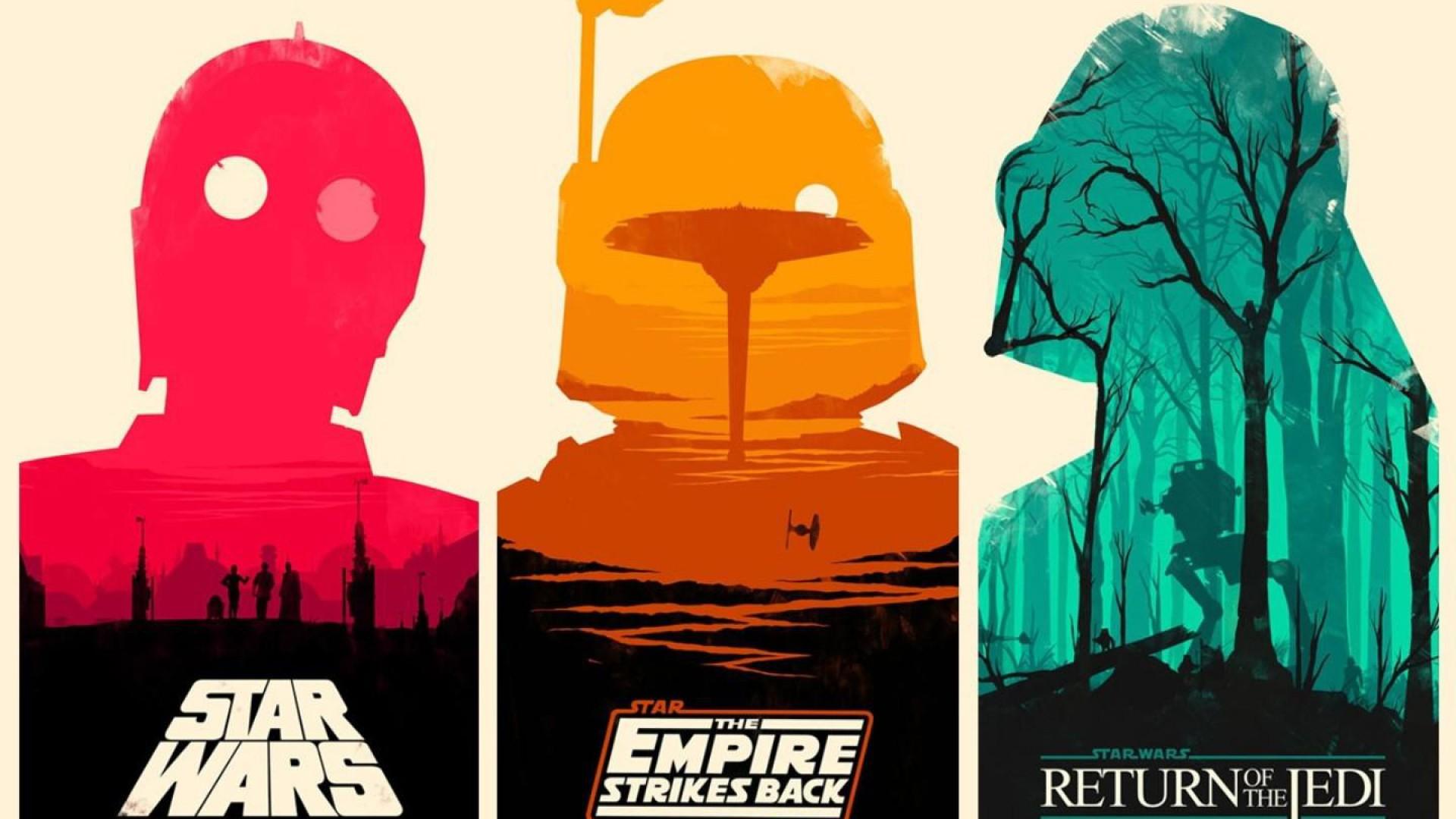 295 2952150 star wars original trilogy art
