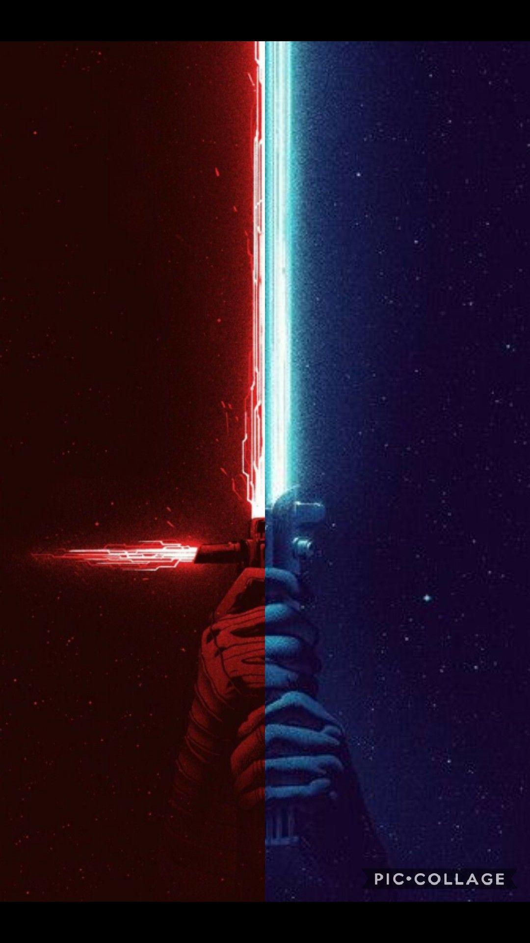 Star Wars Sabre De Luz 1080x1920 Wallpaper Teahub Io