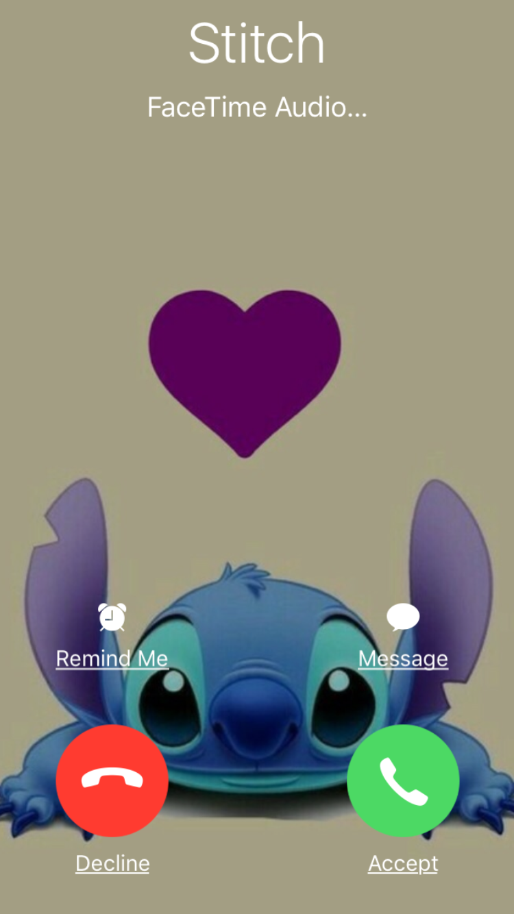 Cute Stitch Dont Touch My Phone 750x1334 Wallpaper Teahub Io