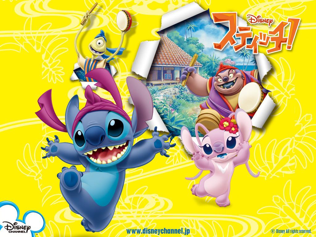 Stitch Angel Stitch And Angel Wallpaper Disney Jp 1024x768 Wallpaper Teahub Io