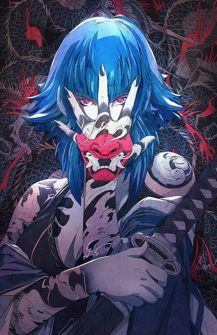 4k Anime Girl Wallpaper Mobile - HD Wallpaper