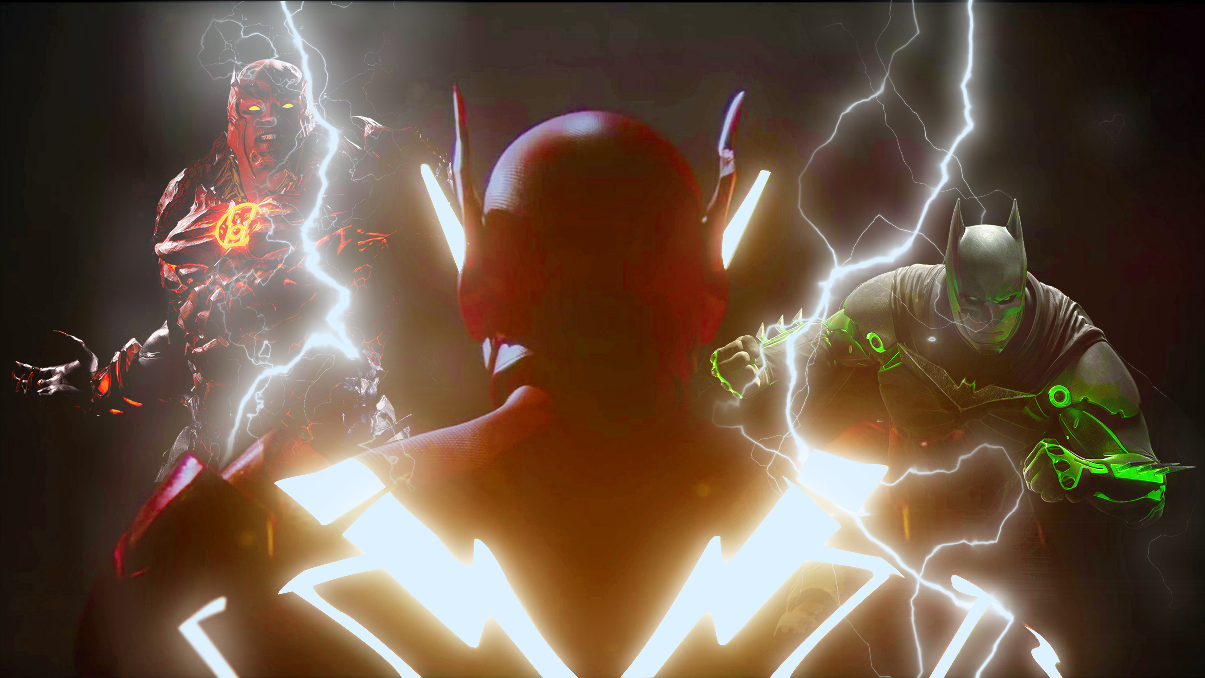 The Injustice 2 Battle With Batman And Atrocitus Nf - Injustice 2 4k - HD Wallpaper