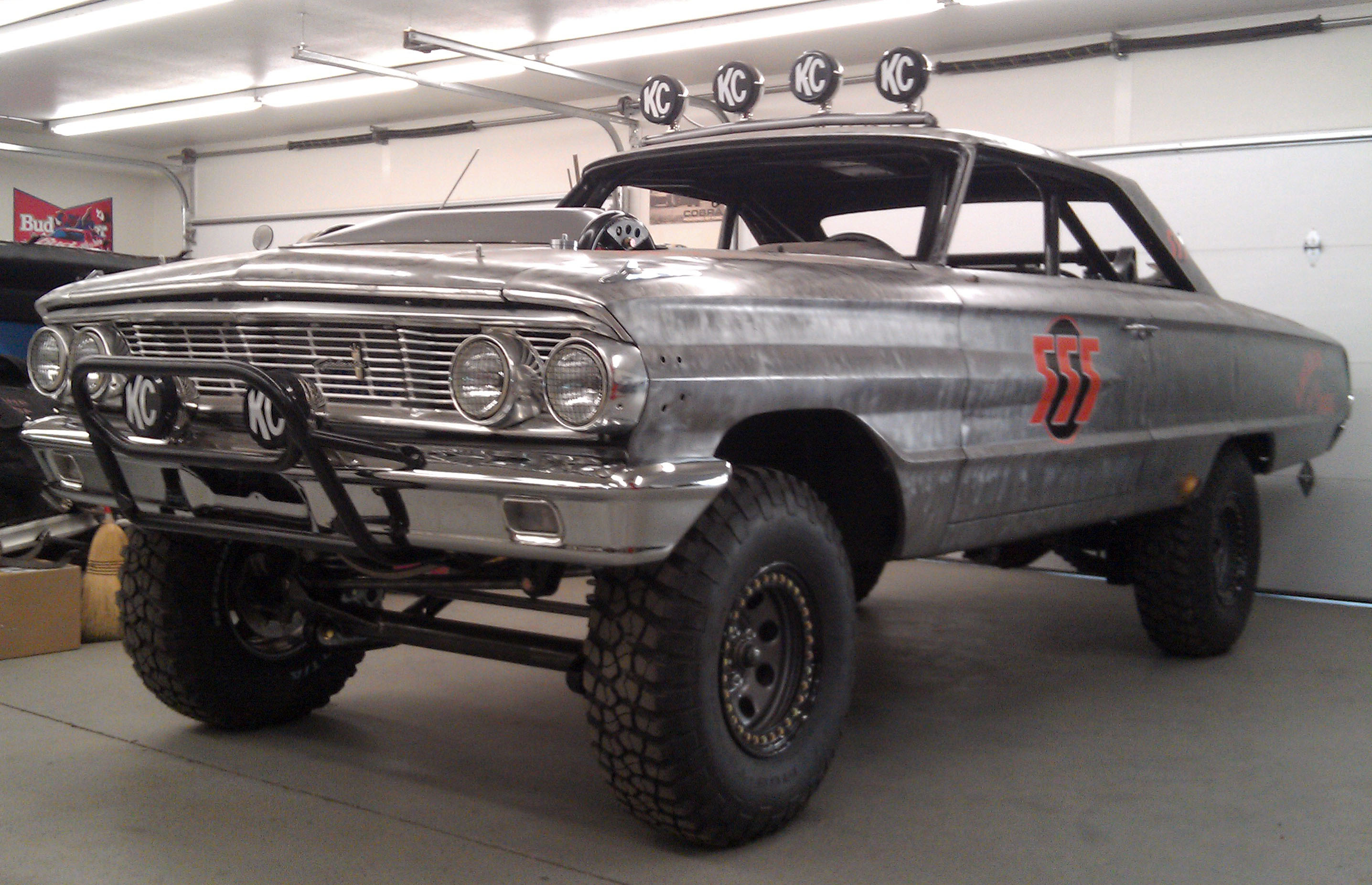 1964 Ford Galaxie For Mexican 1000 Baja Offroad Race - 1964 Ford Galaxie Hot Rod - HD Wallpaper