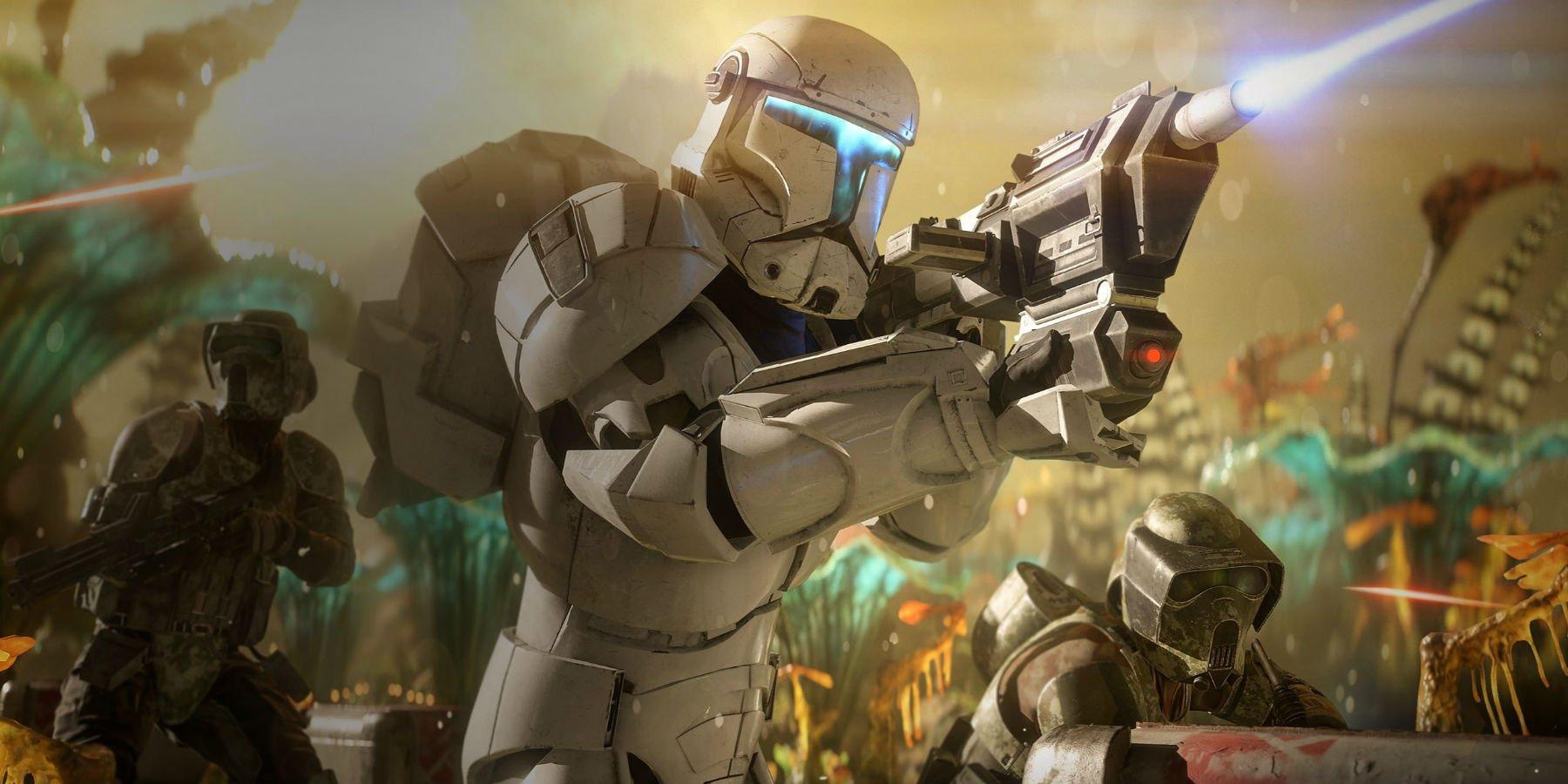 Star Wars Battlefront 2 Clone Commando 1800x900 Wallpaper Teahub Io