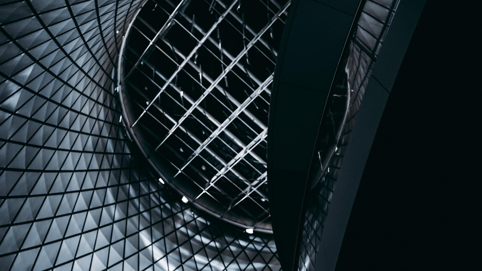 Wallpaper Architecture, Building, Minimalism, Dark, - Desktop Wallpaper 4k Architecture - HD Wallpaper