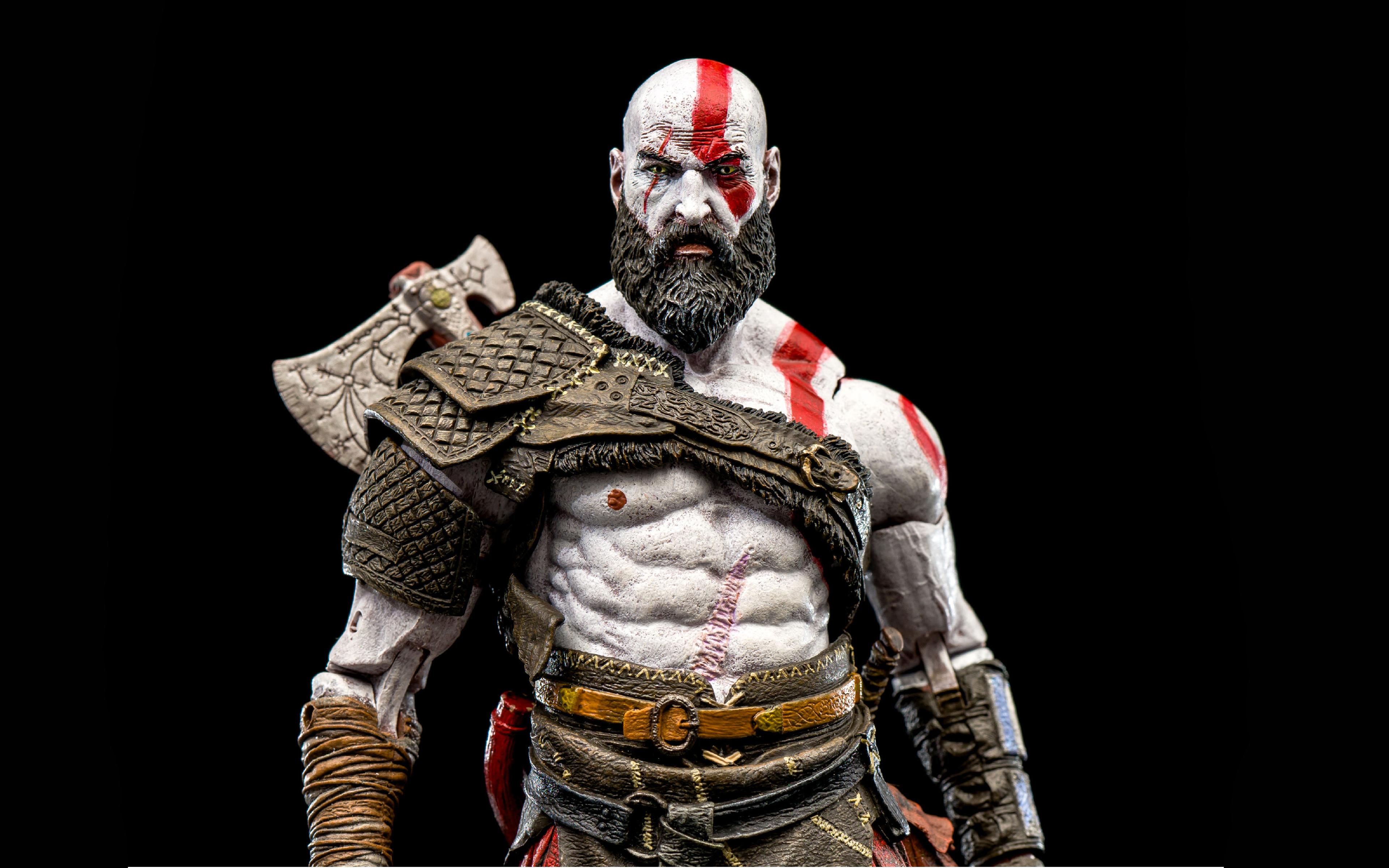 God Of War Kratos 2018 4k Wallpapers - Playstation God Of War 3 Kratos - HD Wallpaper