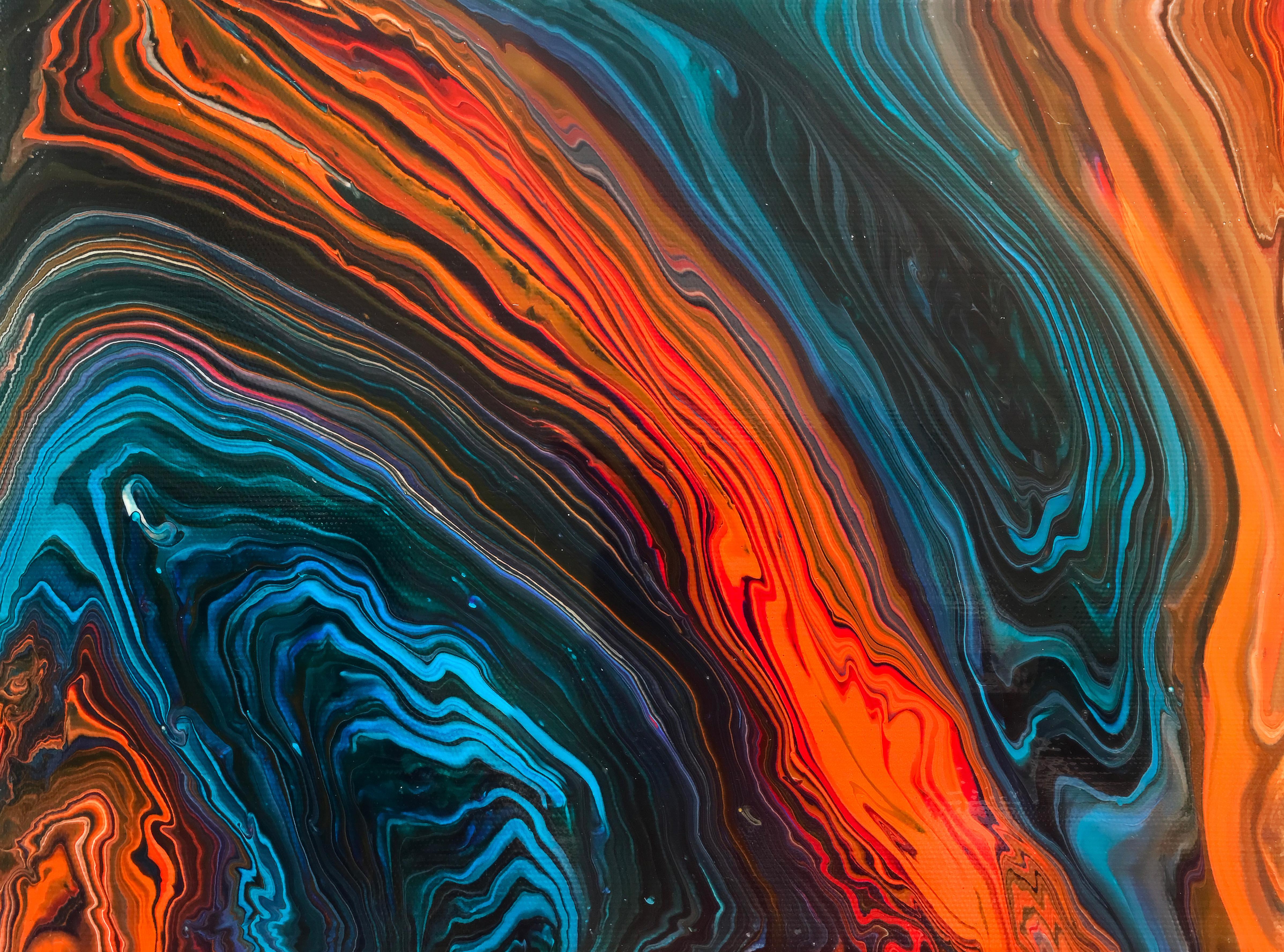 Fluid Art Abstract Wallpapers - Abstract Art - HD Wallpaper