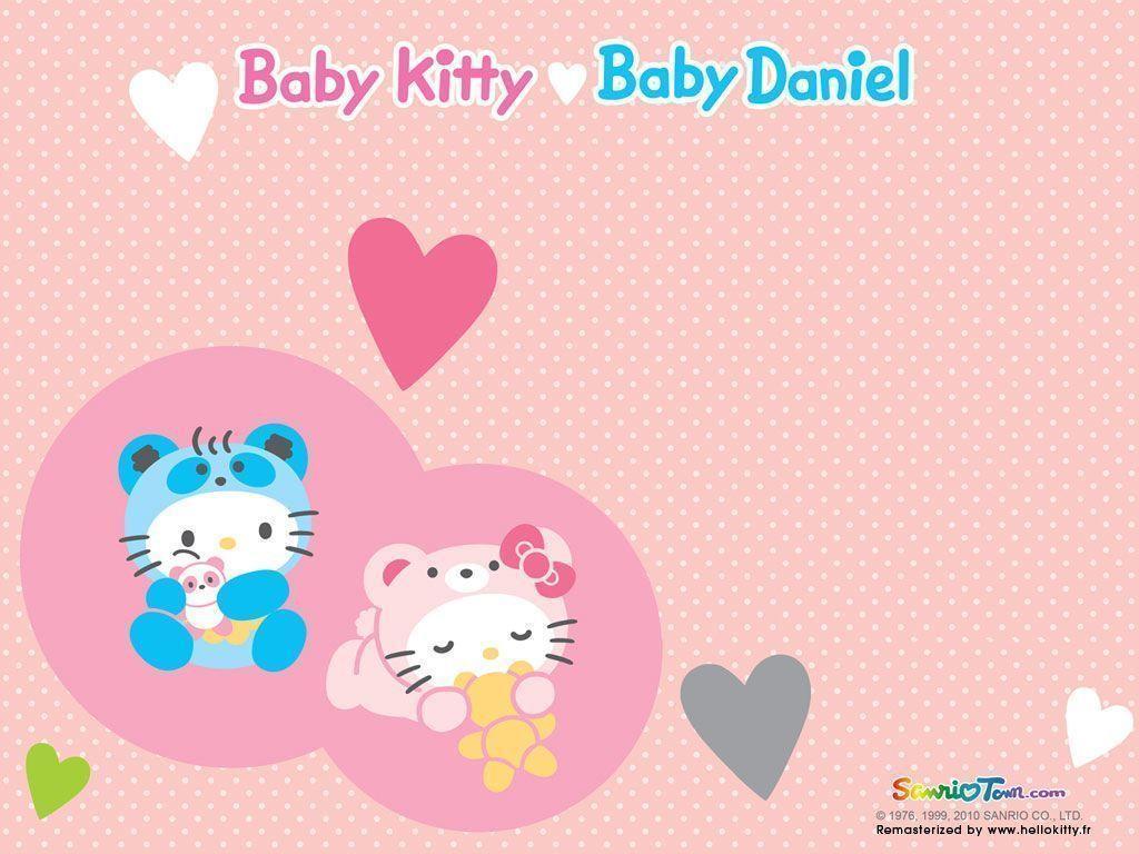 Baby Hello Kitty Daniel 1024x768 Wallpaper Teahub Io