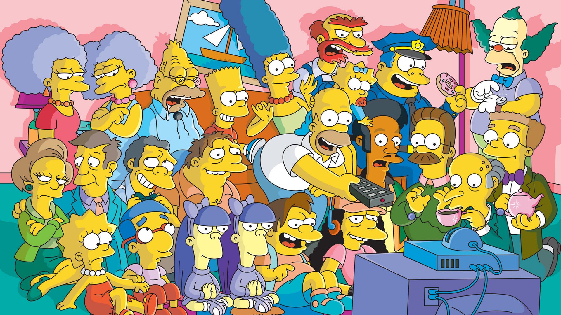 1920x1080, The Simpsons Wallpapers - Los Simpson Wallpaper 4k - HD Wallpaper