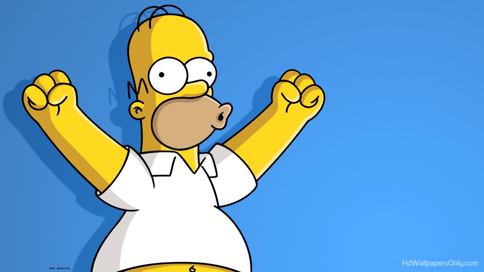 The Simpsons Wallpaper Iphone Mobiles Hd - Homer Simpson 4k - HD Wallpaper