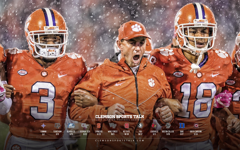 Clemson Football Wallpaper 2018 2880x1800 Wallpaper Teahub Io