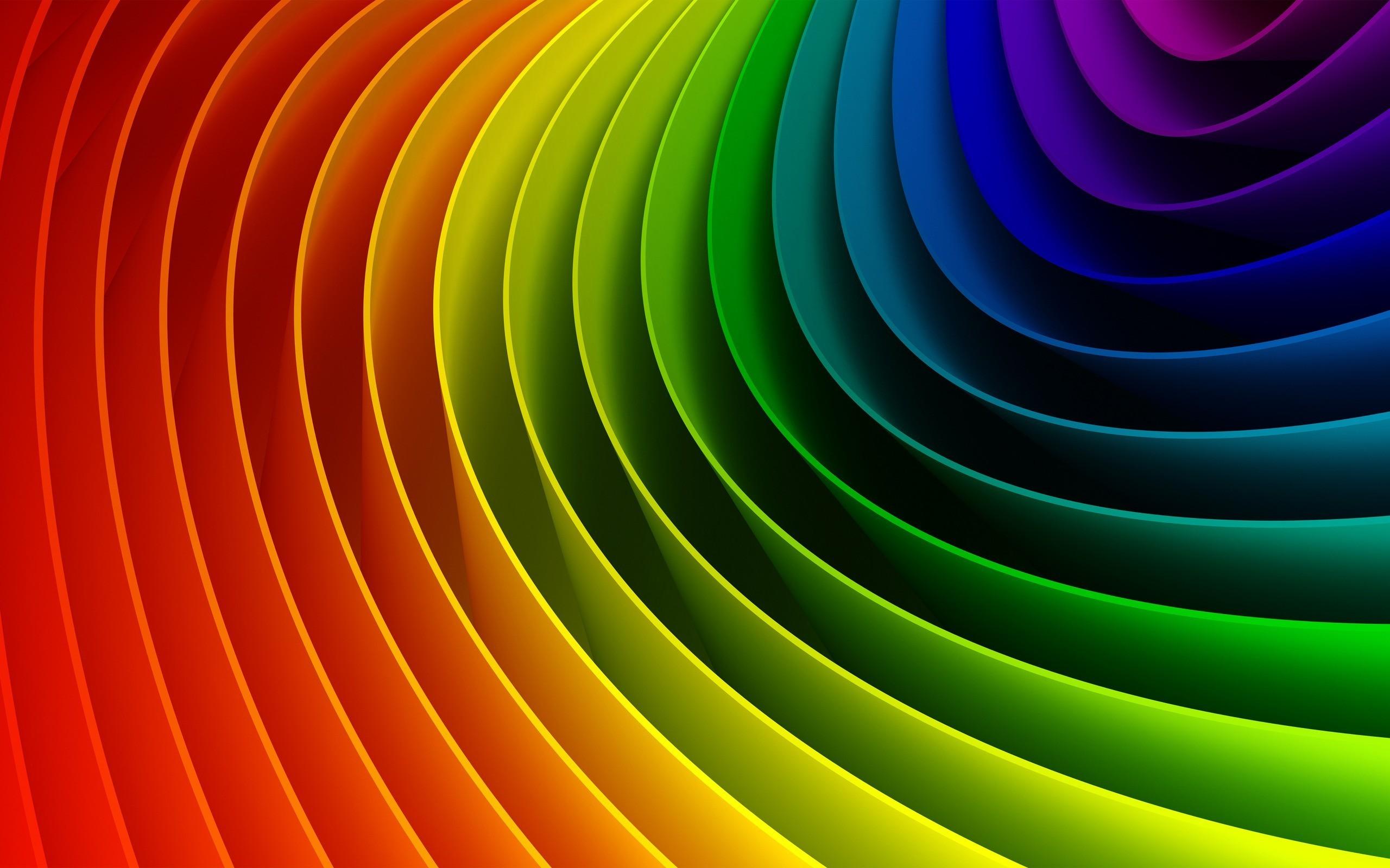 2560x1600, Download Wallpaper - Rainbow Backgrounds - HD Wallpaper
