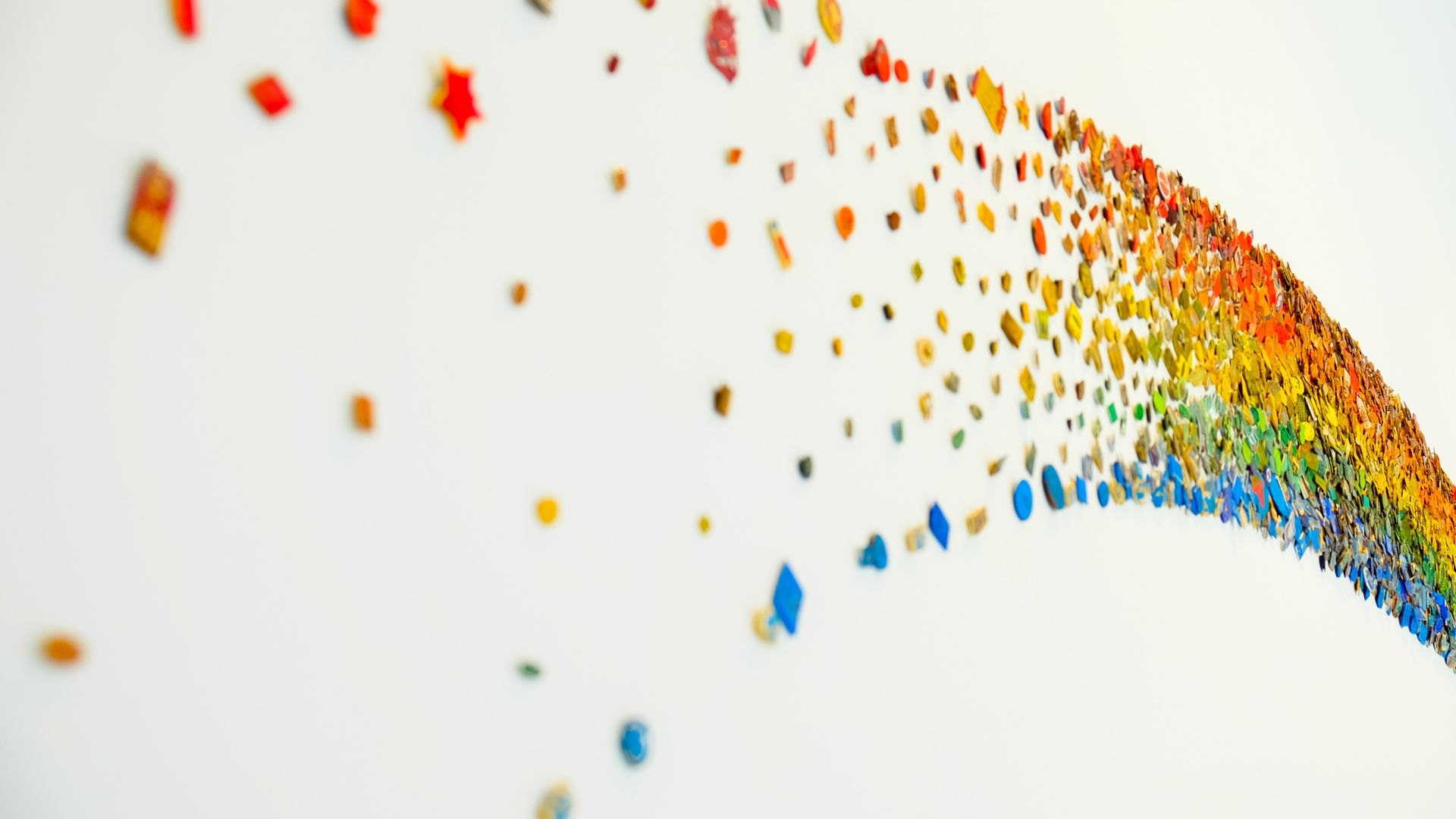 Abstract Art Rainbow Decoration Artistic Wallpaper Artistic 1920x1080 Wallpaper Teahub Io