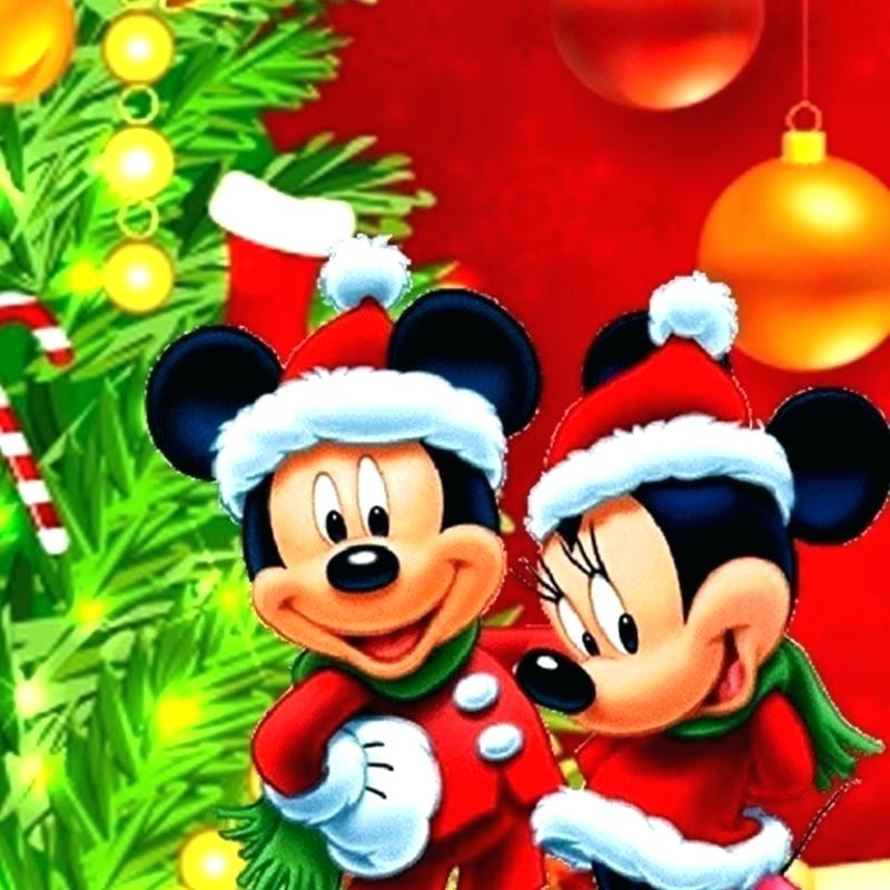 Disney Christmas Wallpaper Mickey Mouse Wallpaper Mickey Mickey And Minnie Christmas 800x800 Wallpaper Teahub Io
