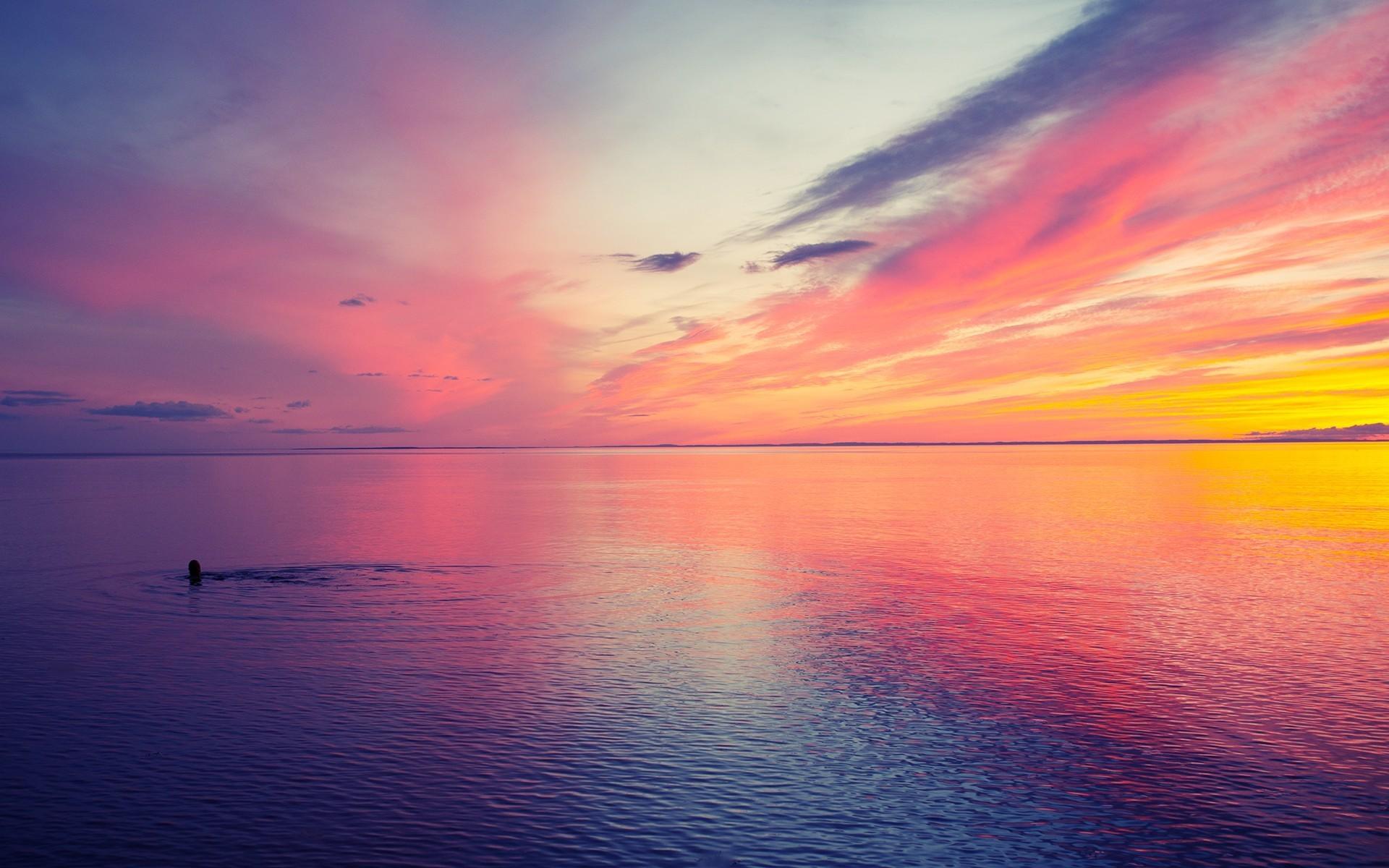 1920x1200, Nature Wallpapers - Beautiful Sunset - HD Wallpaper