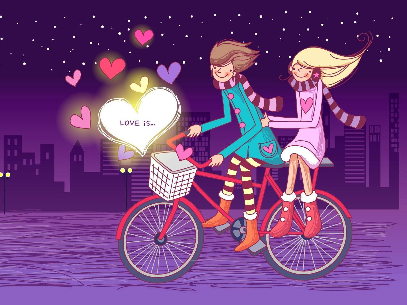 Romantic Couples Anime Wallpapers - Download Romantic - HD Wallpaper