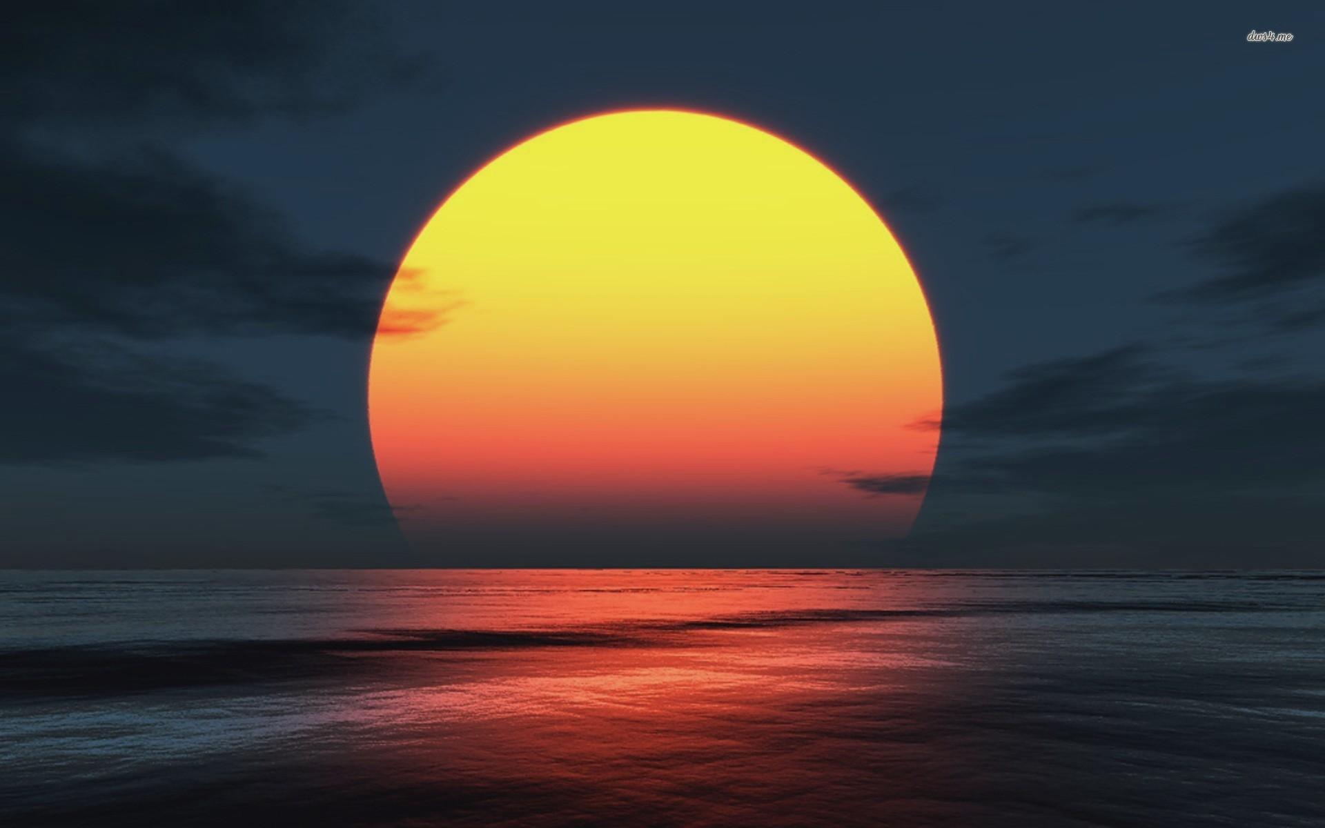 Sunset Wallpaper Hd - Sunset Hd - HD Wallpaper
