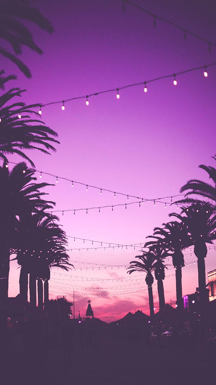 Sunset Iphone Wallpaper - Purple Sunset Wallpaper Iphone - HD Wallpaper