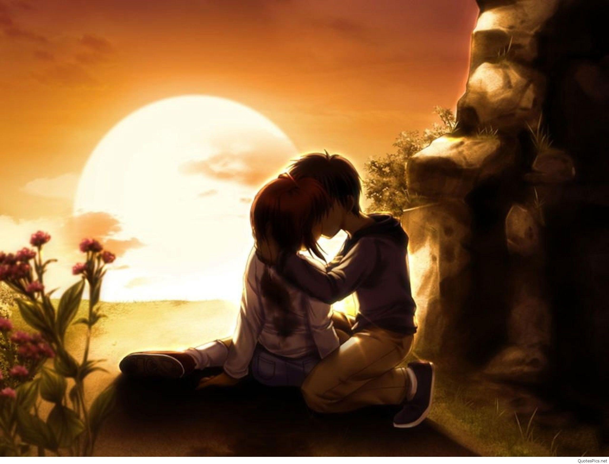 Anime Love Wallpaper Hd 3d gambar ke 10