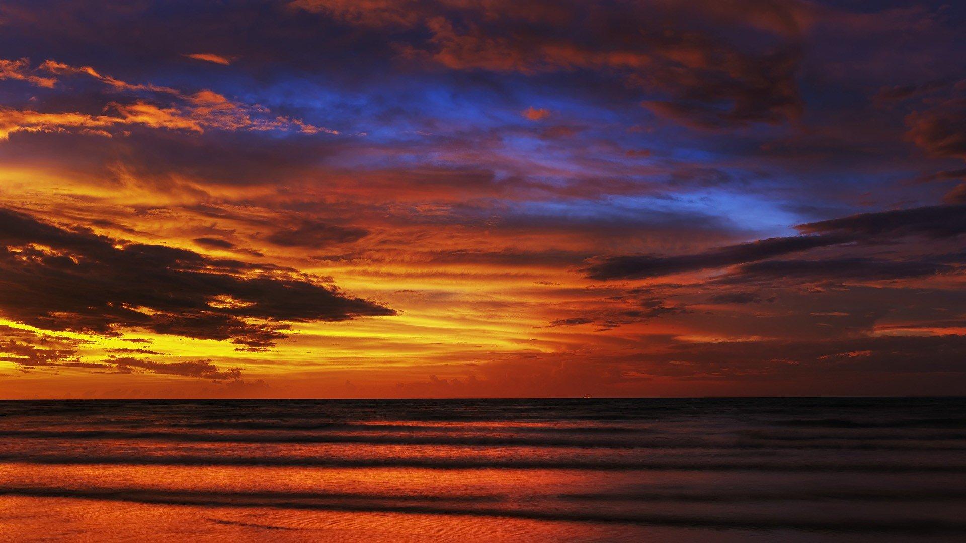 Best Sunset Wallpaper Id - Sunset Wallpaper Full Hd - HD Wallpaper