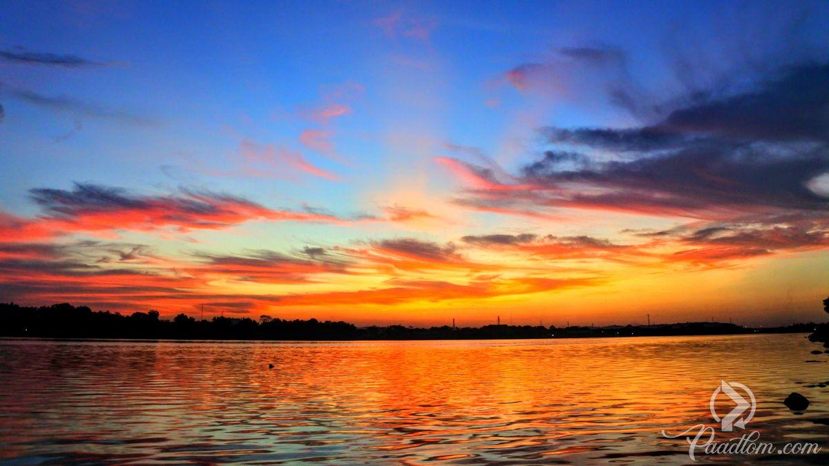 Golden Sunset Wallpaper - Sunset - HD Wallpaper