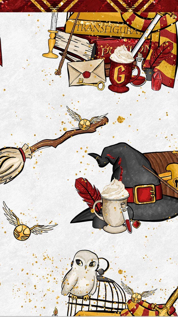 Harry Potter Wallpaper - Kawaii Harry Potter Sfondi - HD Wallpaper