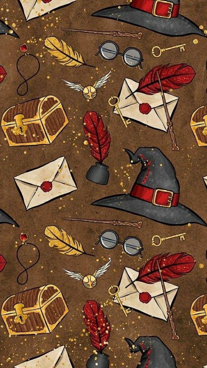 Cute Harry Potter Wallpaper - Harry Potter Themed Backgrounds - HD Wallpaper