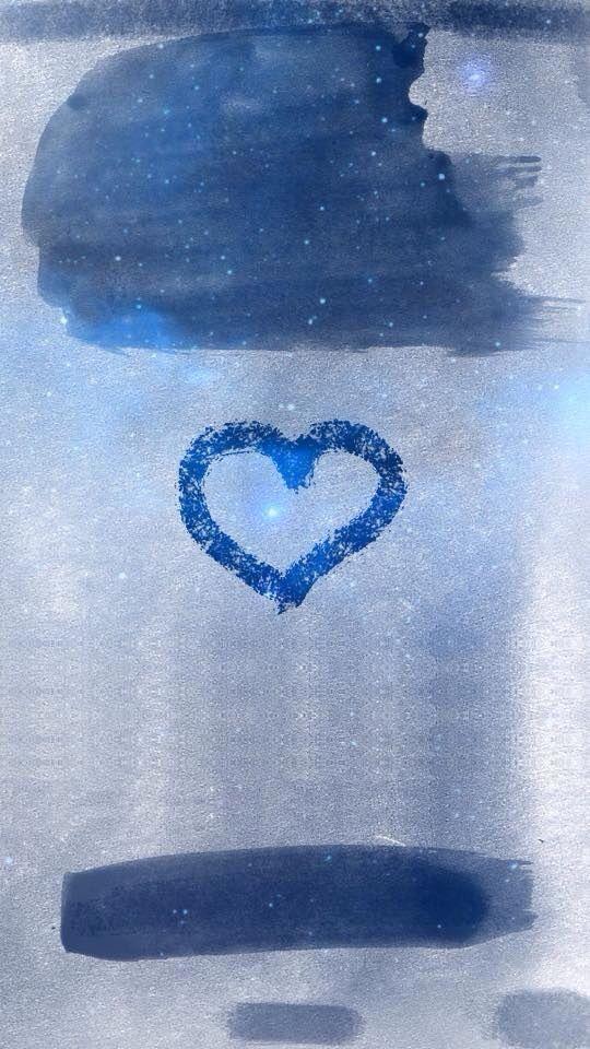 Lock Screen Iphone Wallpaper Blue - HD Wallpaper