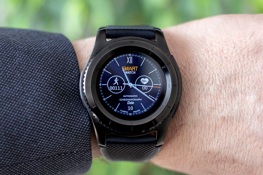 Smartwatch Wrist Watch Pedometer Heart Rate Monitor Best Android Smartwatch 2018 910x607 Wallpaper Teahub Io
