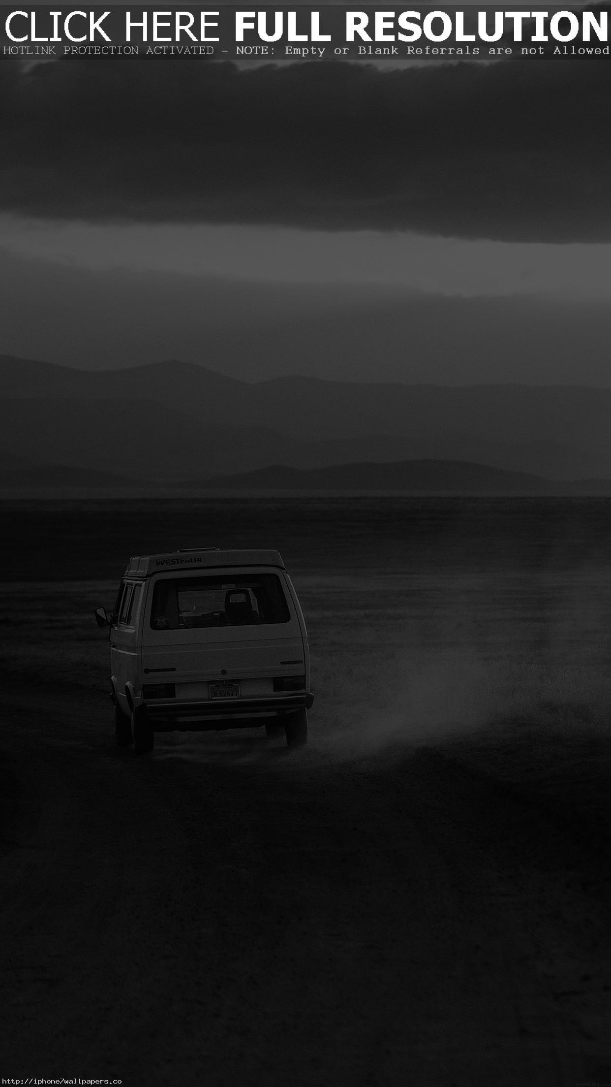 1242x2208, Desert Car Dark Bw Drive Nature Love Android - Warren Street Tube Station - HD Wallpaper